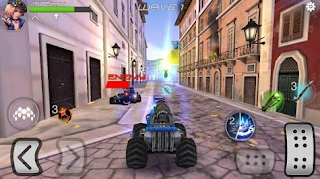 Download Overload 3D MOBA Car Shooting Apk