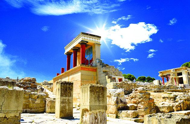 Palácio Knossos, Creta