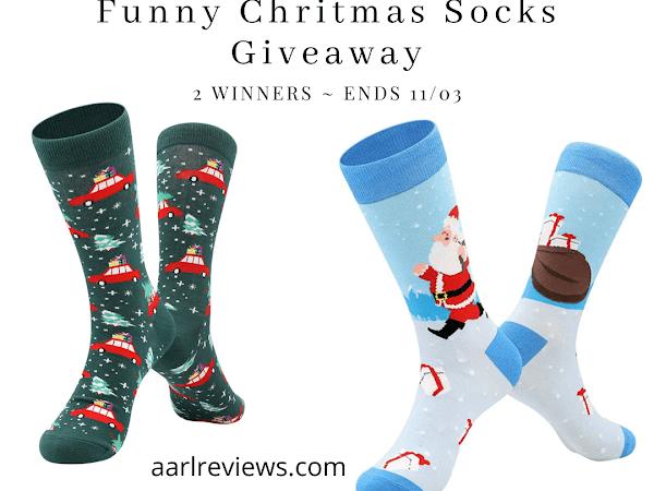 Funny Christmas Socks Giveaway From Bonangel