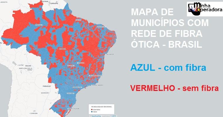 mapa de fibra 3.225 cidades são equipadas fibra. Veja se a sua está na lista  mapa de fibra