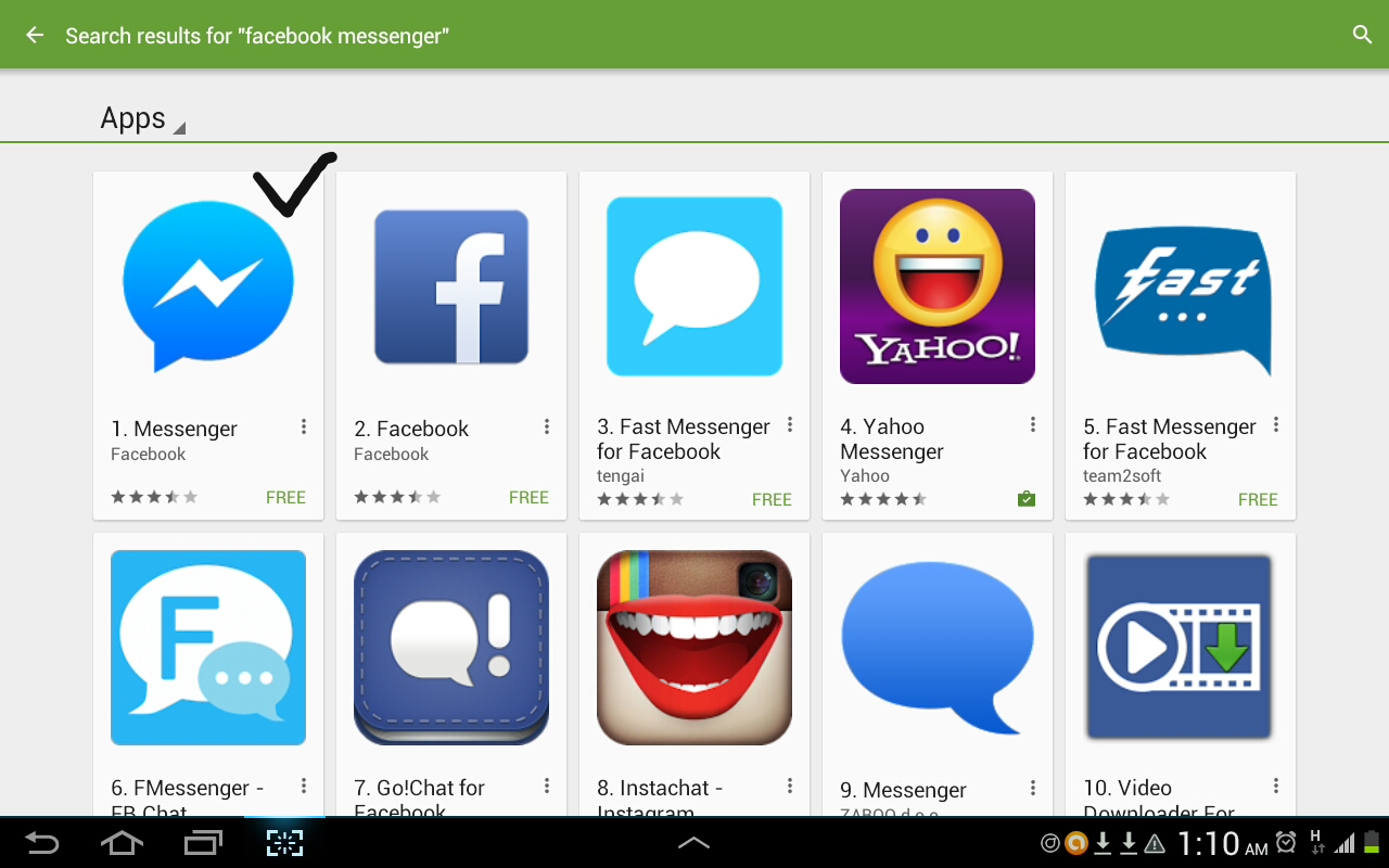 Infortech9ja Facebook Messenger Apps Users Experience An
