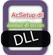 AcSetup.dll download for windows 7, 10, 8.1, xp, vista, 32bit