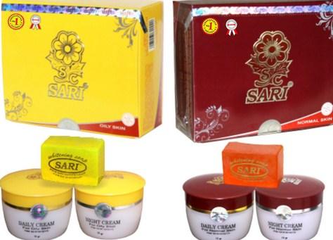 Cream Sari Blanja.com