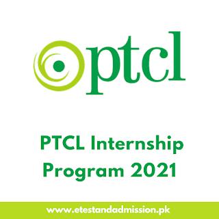 PTCL Internship Program 2021