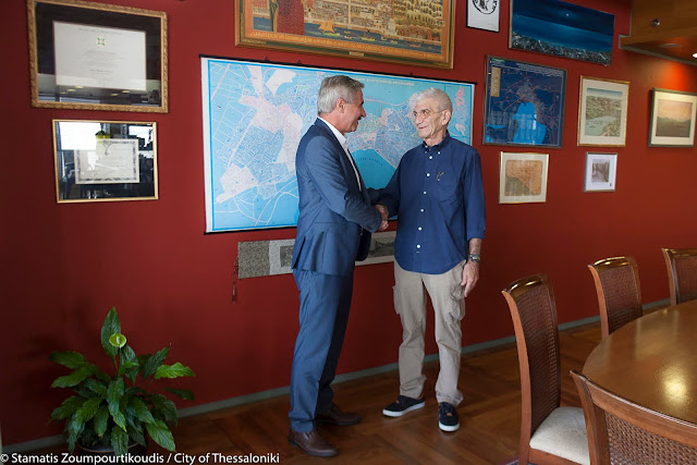 Συνάντηση Γιάννη Μανιάτη με Δήμαρχο Θεσσαλονίκης Γιάννη Μπουτάρη