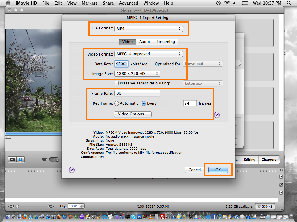 How to make High Quality Videos with iMovie 6 HD - rj california