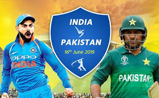 Ind vs pak icc world 2019