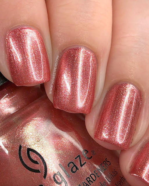 China Glaze Giggling All the Way 25 Sweetpeas