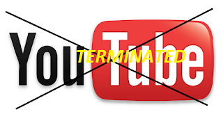 youtube channel termination