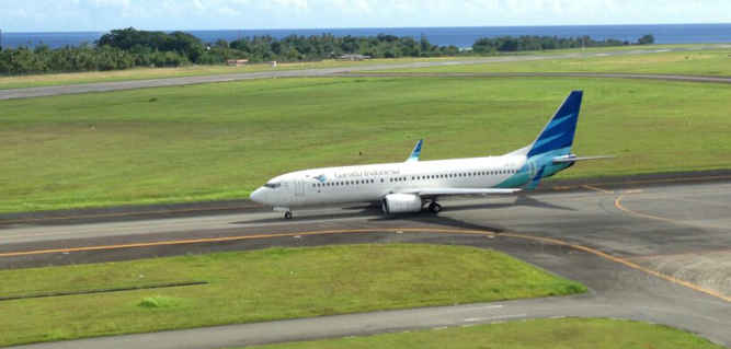Maskapai Garuda Indonesia akan membuka rute penerbangan baru tujuan Ambon, Maluku, menuju Bau-Bau, Sulawesi Tenggara, mulai 7 Maret 2018.