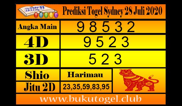 Prediksi Togel Sydney 28 Juli 2020