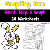 Graphing Jars Worksheets