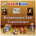 FarmVille Renaissance Fair Countdown