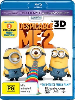 Despicable Me 2 (2013) Movie 1080p 3D & 720p BluRay