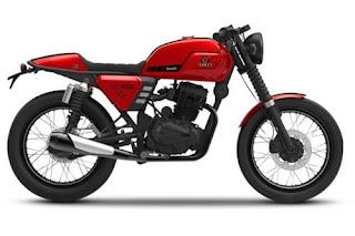 Review & Spesifikasi Harga Benelli 150 Cafe Racer