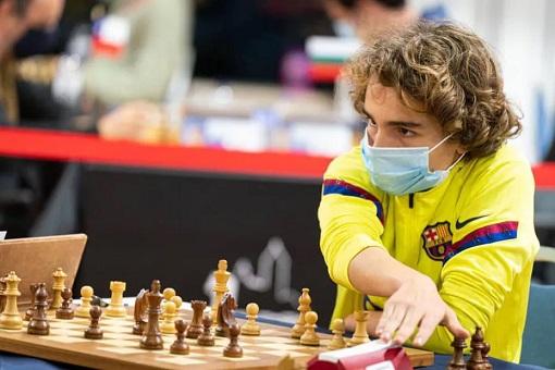 Marc'Andria Maurizzi, plus jeune grand maître d'échecs français de l'histoire