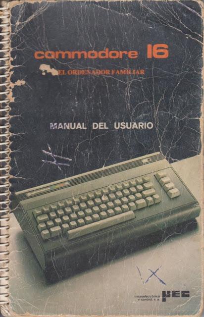 Commodore 16 Manual del usuario