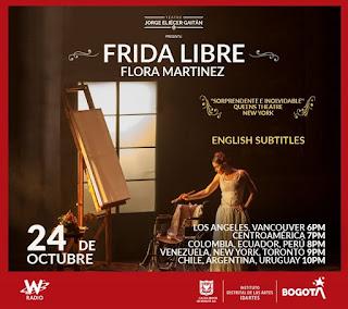 FRIDA LIBRE | Presentación especial desde Bogotá