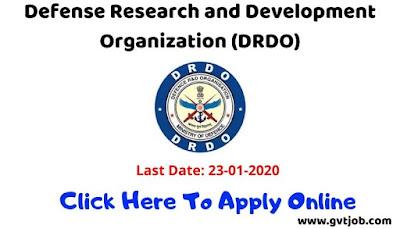 DRDO - MTS Recruitment 2019-gvtjob.com