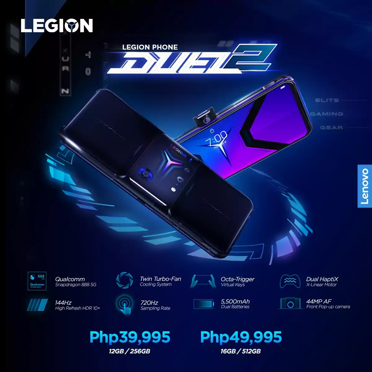 Legion Phone Duel 2 Key Features and Price