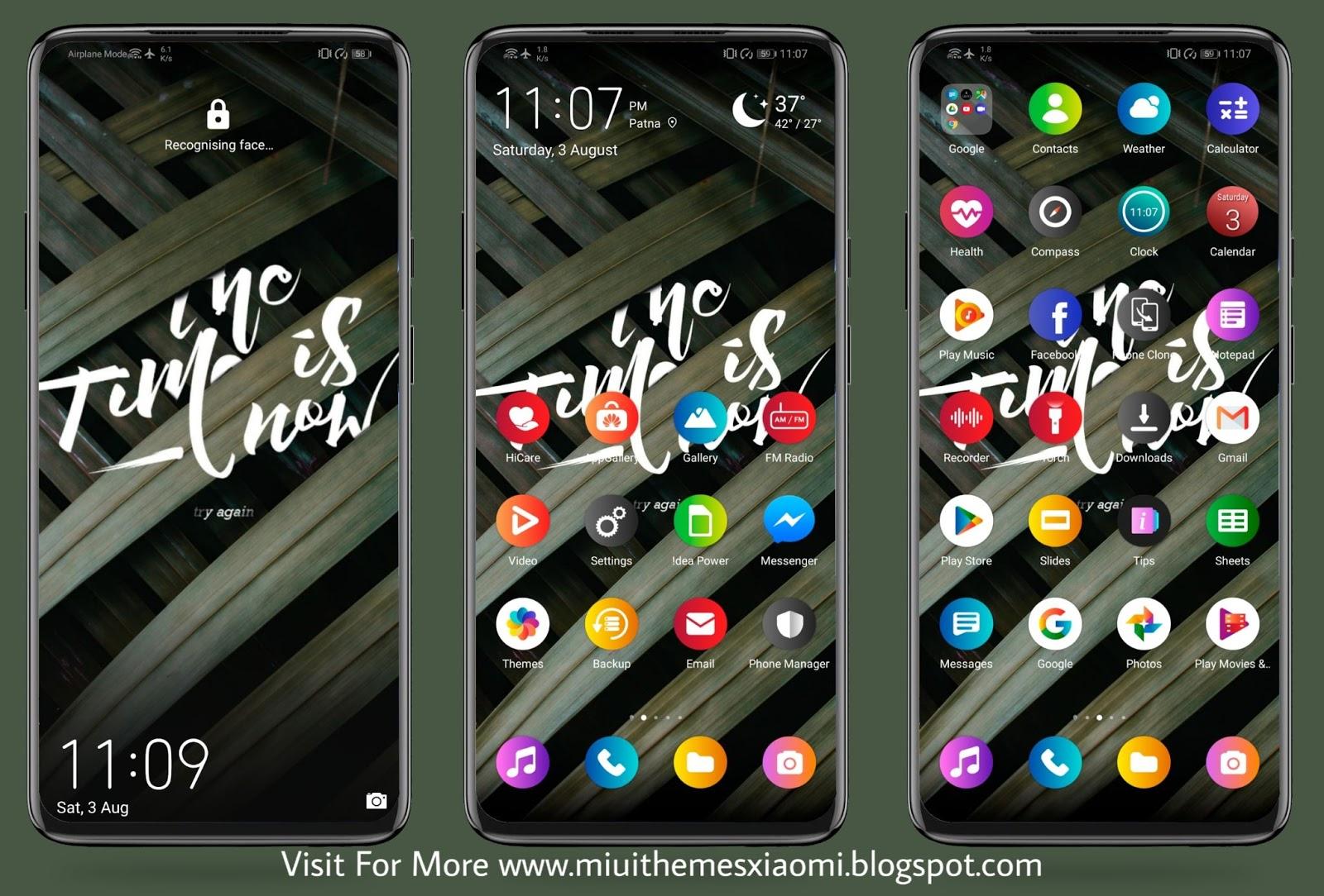 Antara EMUI Theme Download For Huawei & Honor Phones || EMUI