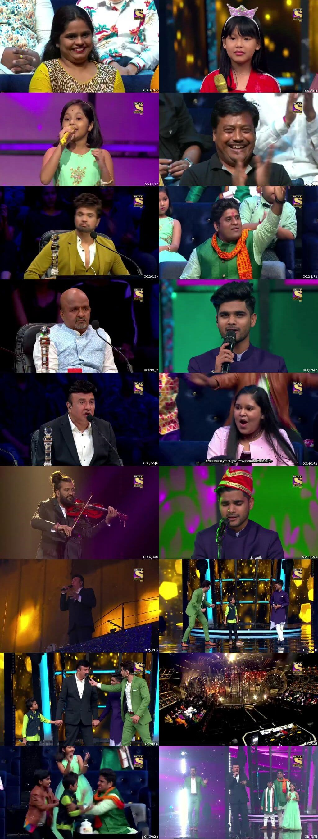 Screenshots Of Hindi Show Superstar Singer 3rd August 2019 Episode 11 300MB 480P HD