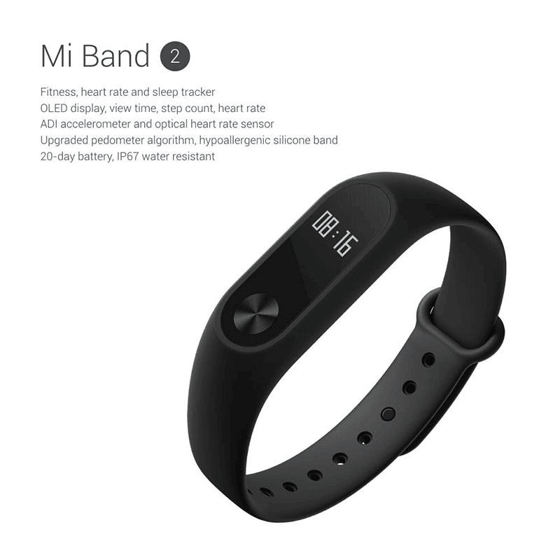 Mi Band 2 announced!