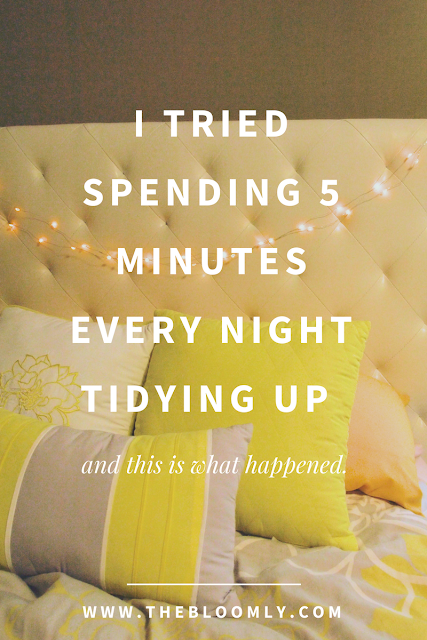 I Tried Spending 5 Minutes Every Night to Tidy Up for a Week