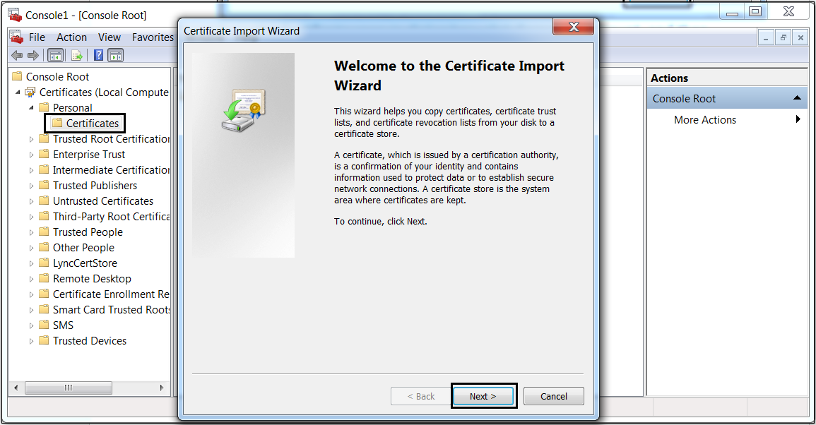 How To Download And Install Root Certificate On Server Or Computer