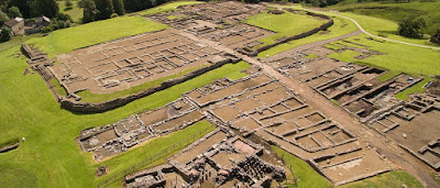 Vindolanda - Ancient Roman fort in England