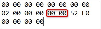 """رمز المسح إلى المفتاح الذي نعيد تعيينه إدراج إلى: """"00 00."""""""