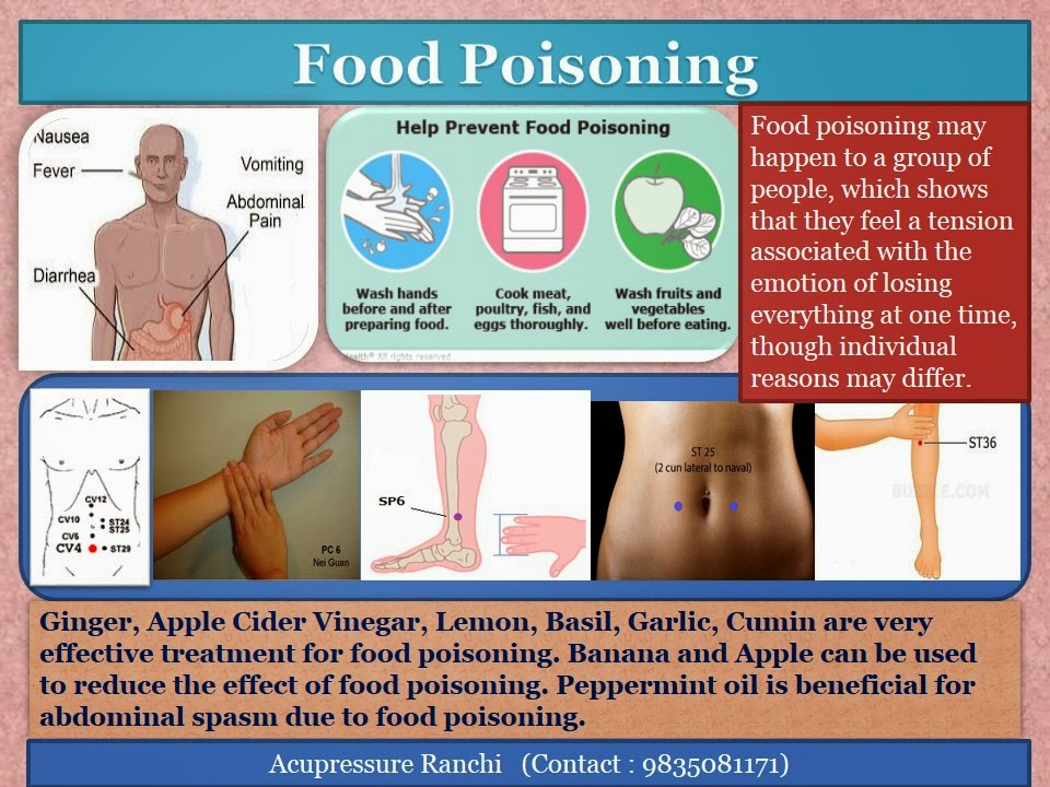 How Can You Cure Food Poisoning