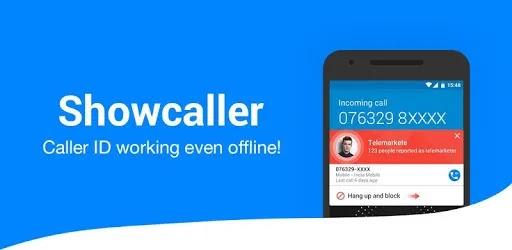 إذا كنت تخاف دائمًا من الهجمات الهاتفية أو تريد معرفة من يتصل بك ، فلا يجب أن تتجاهل هذا التطبيق ، ShowCaller.