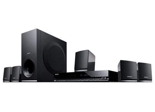 Sony DAV-TZ145 Home Theatre System (Black) Front view