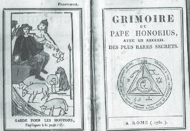 Grimorio atribuido al Papa Honorio III