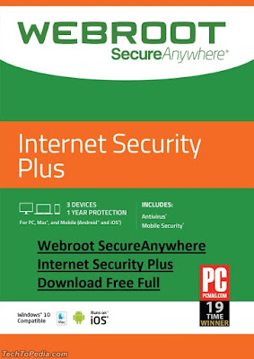 Webroot SecureAnywhere Internet Security Plus Download Free Full