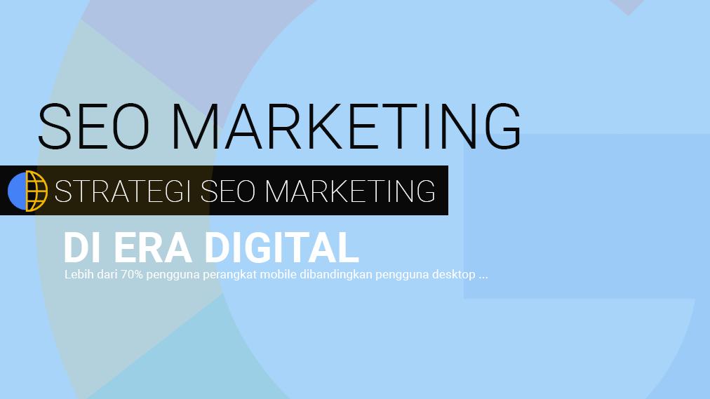jasa pemasaran internet melalui jasa seo website dan strategi search engine outburst