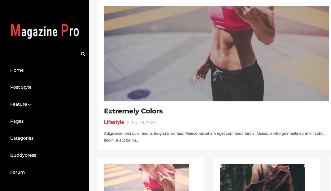 Download Magazine Pro v1.0 | Responsive Blog / Magazine Blogger Template