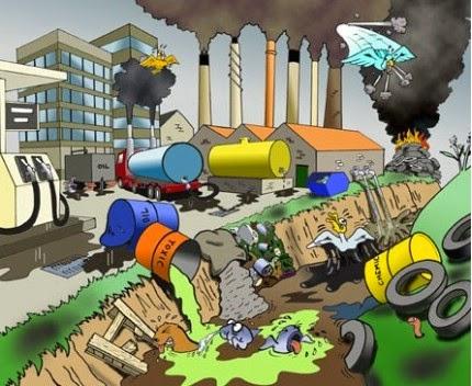 رسم كرتوني عن البيئة Lazcy Blog
