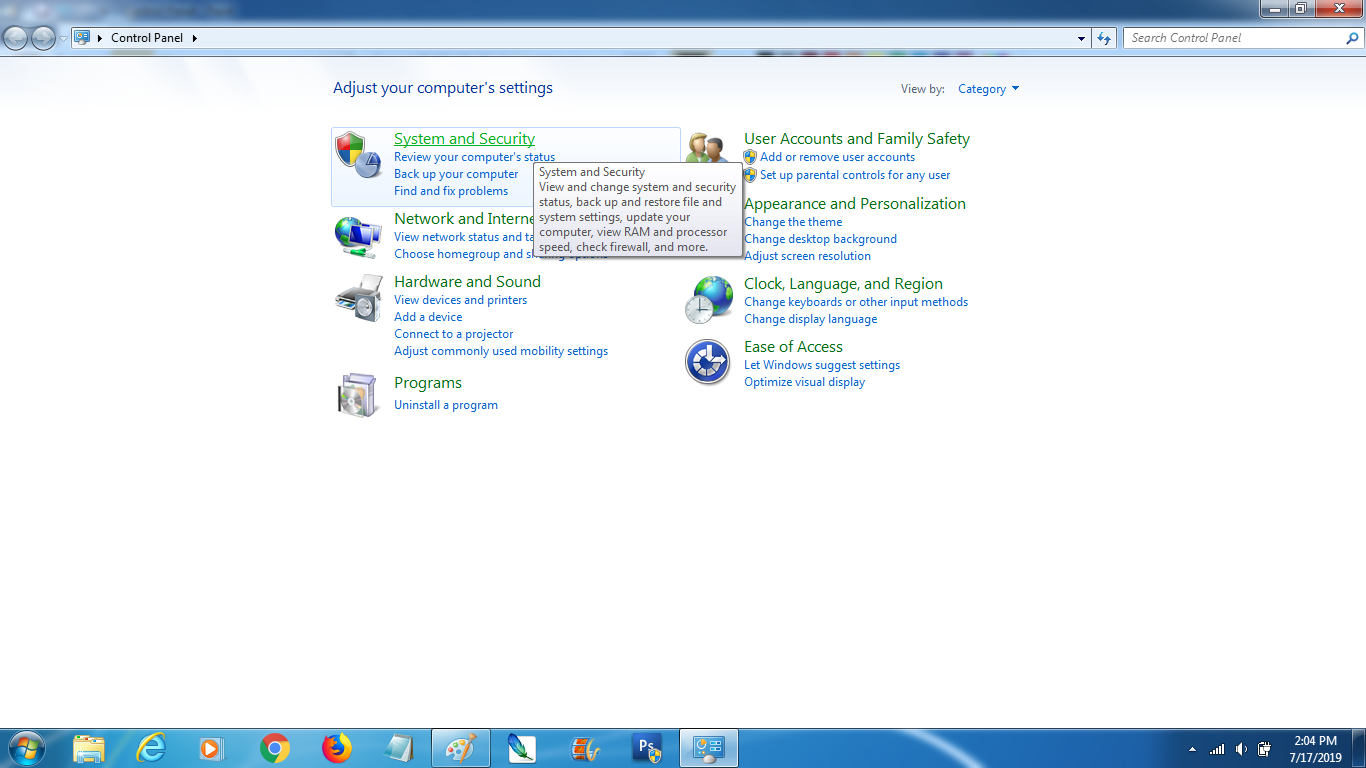 Menonaktifkan Update Otomatis Windows 7