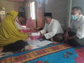 Harum, Penderita Ginjal Bocor Terima Bantuan Dari Baznas Muaro Jambi