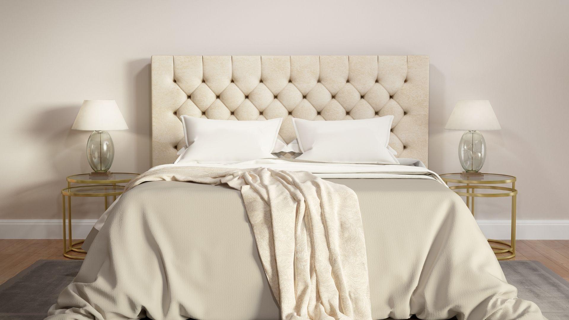 sypialnia kolor bezowy