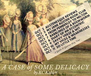 Blog Tour Schedule for A Case of Some Delicacy by KC Kahler