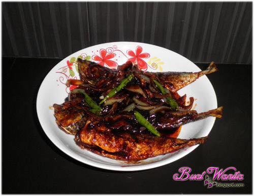 resepi ikan masak kicap pedas resep masakan khas Resepi Ikan Sardin Goreng Enak dan Mudah