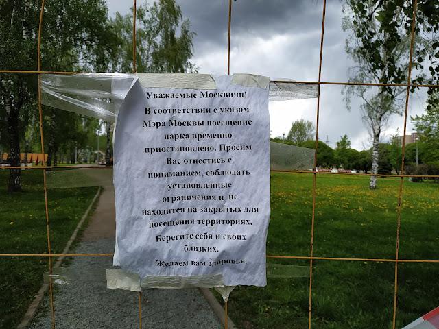 гольяновский парк 2020