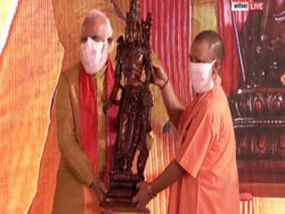 इतिहास के पन्नों में दर्ज हुआ 5 अगस्त, प्रधानमंत्री नरेंद्र मोदी ने किया राम मंदिर का भूमि पूजन | #NayaSaveraNetwork