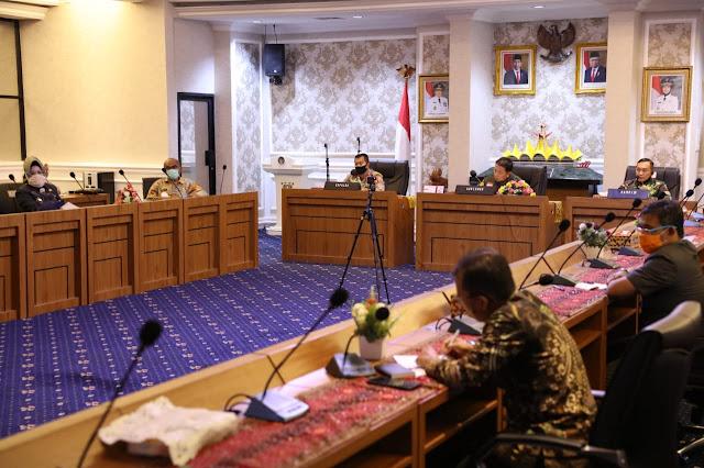 Gubernur Arinal Lakukan Koordinasi Pasca Ditetapkannya Bandarlampung sebagai Zona Merah Covid-19 oleh Kemenkes