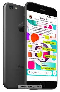 IOS Geometric Theme For YOWhatsApp & Fouad WhatsApp By Dmota
