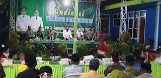 Tampung Aspirasi Warga,Wali Kota Probolinggo Audensi Bersama Warga KTS Kampung Tempe