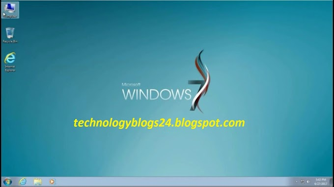 If your PC too slow. Please, Download Windows 7 Super Lite & Windows 7 Technical Lite | TechnologyBlogs24